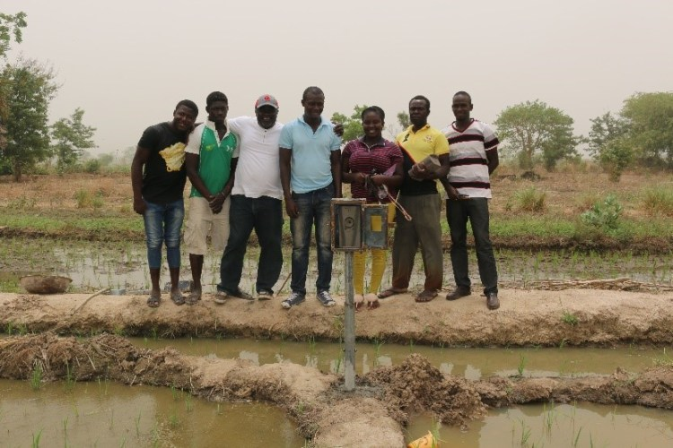 Drone Tech research team Ghana