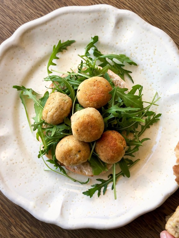 Polpettine di salmone patate e zucchine