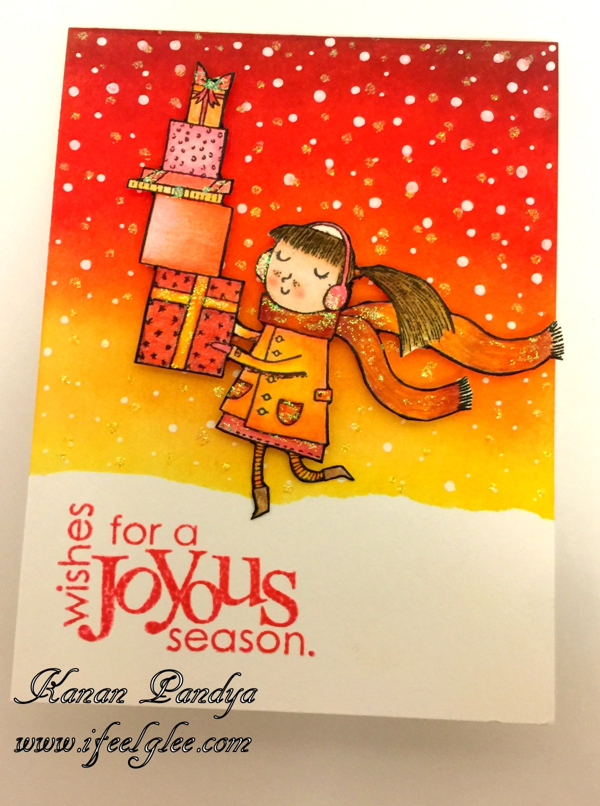 Wishes For A Joyous Season.