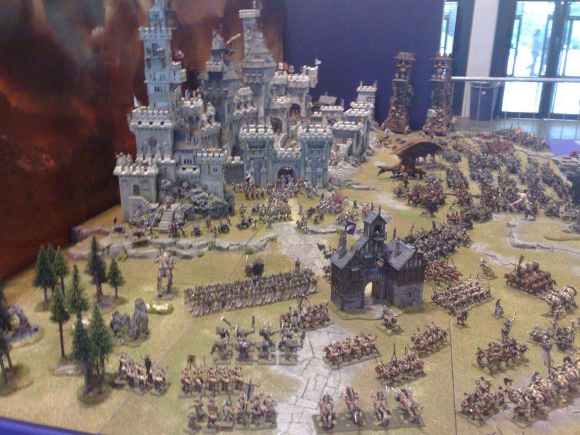 Warhammer Siege Diorama