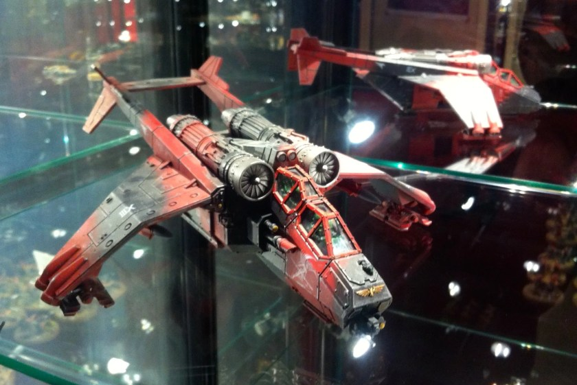 Imperial Navy Valkyrie at Warhammer World