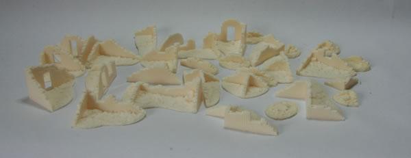 Ironclad Miniatures 15mm Ruins