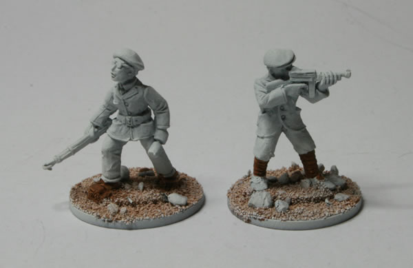Bolt Action Partisans