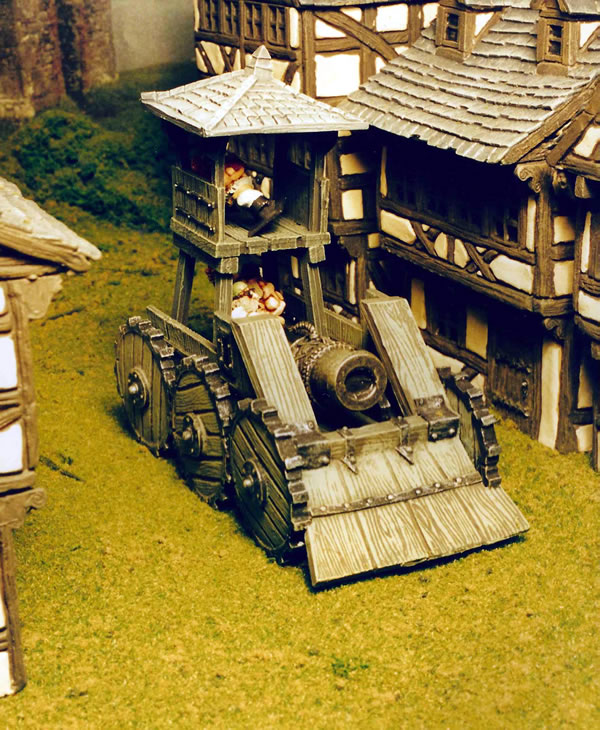Dwarf Steam Wagon