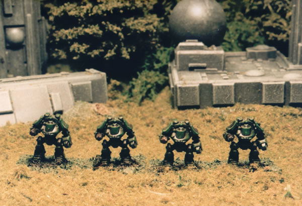 Space Marine Dreadnoughts