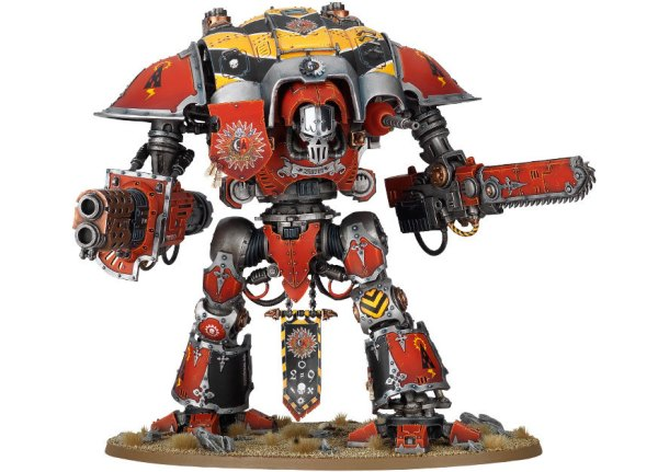 Mechanicus affiliated Knight
