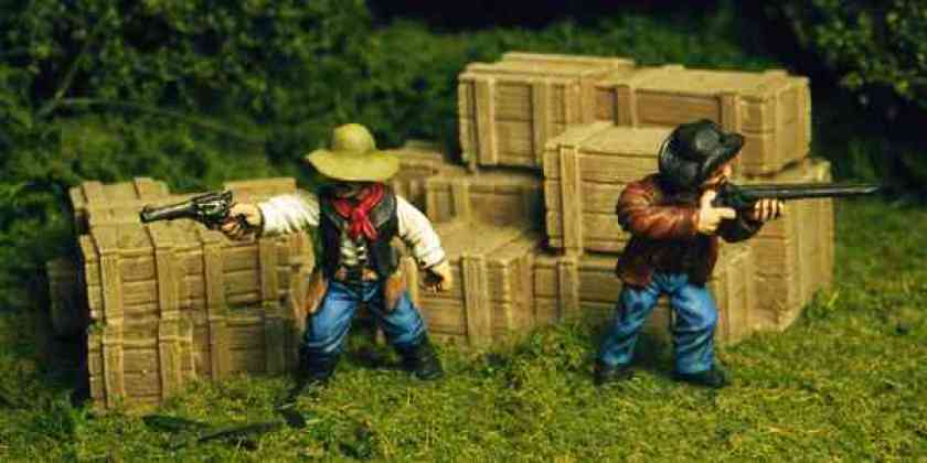 Dixon Miniatures Cowboys