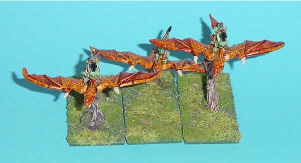 Warmaster Lizardmen Terradons