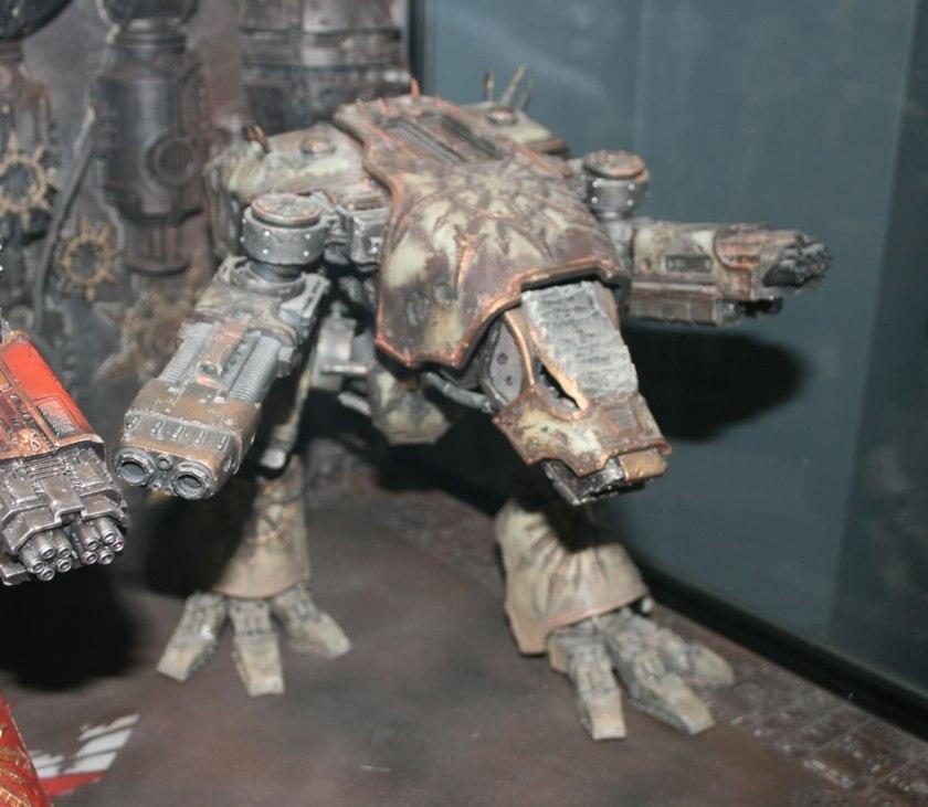Forge World Chaos Warhound Titan at Warhammer World.