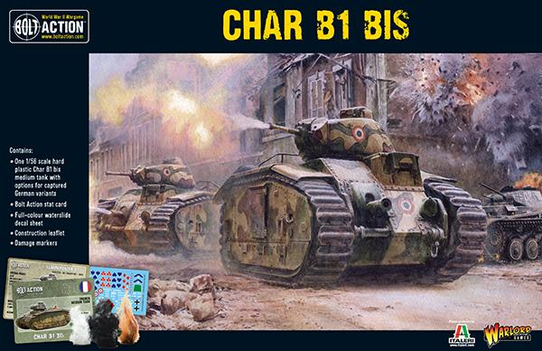 Bolt Action Char B1 bis