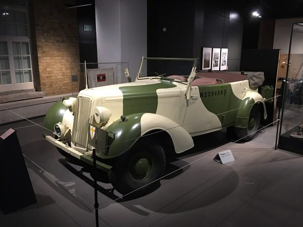 Humber Super Snipe Staff Car