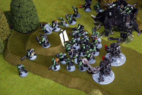 Orks attack