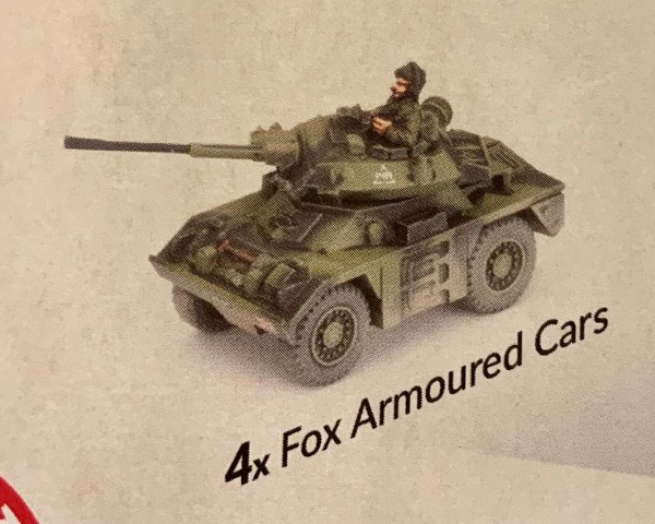 Fox Armoured Cars
