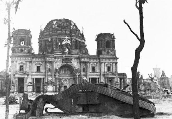 Mark V Tank in Berlin 1945