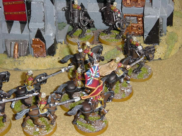 Victorian Steampunk inspired Imperial Guard Army Rough Riders