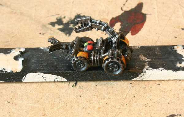 Ork Squig Capturing Vehicle