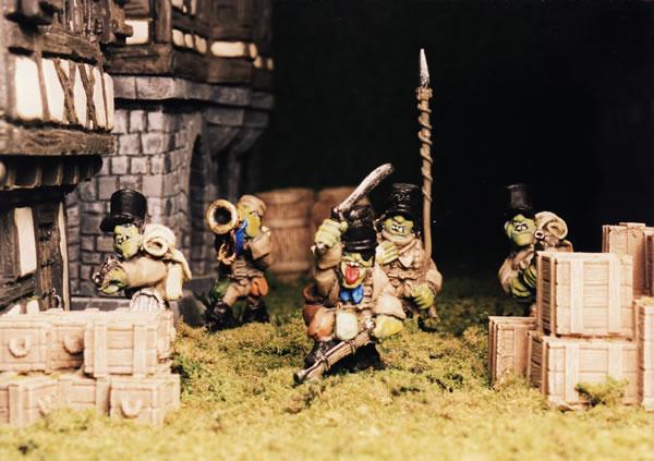 Flintloque Goblin Caçadores