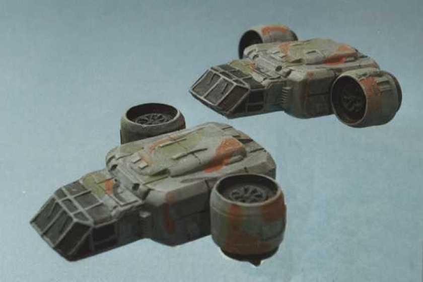 GZG VTOL Dropships