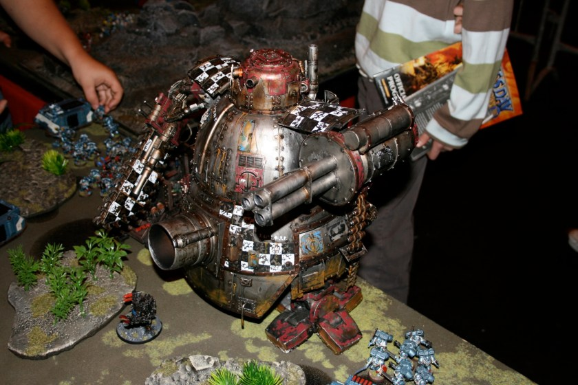 Scratchbuilt Stompa from GamesDay 2007
