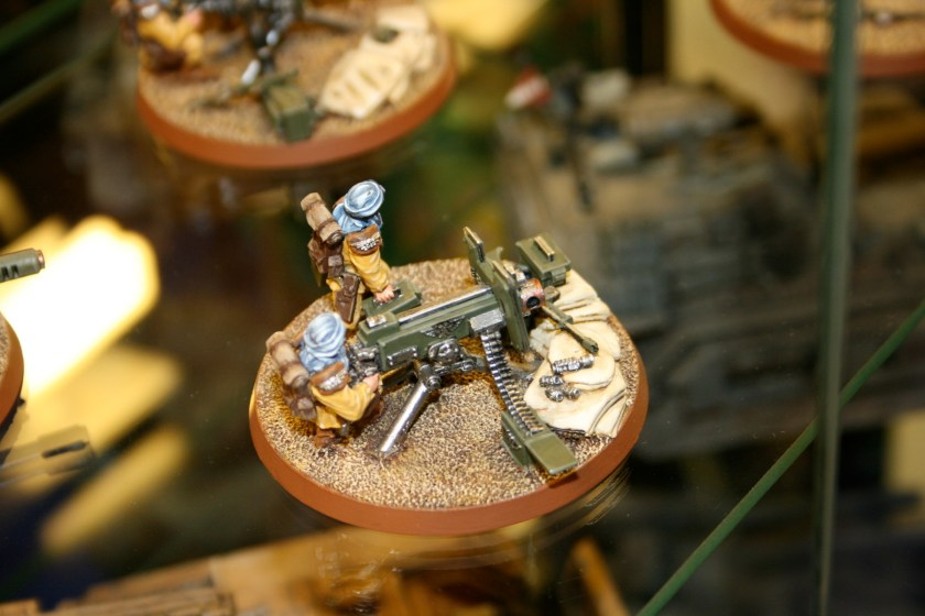 Tallarn Heavy Bolter Team. From the Forgeworld displays at GamesDay 2007.