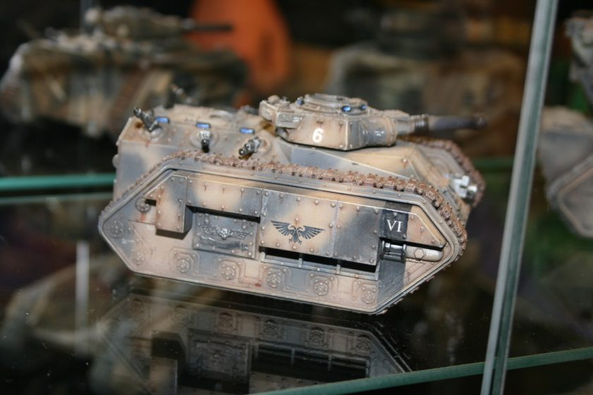 Imperial Chimera from the display cabinets at GamesDay 2007.
