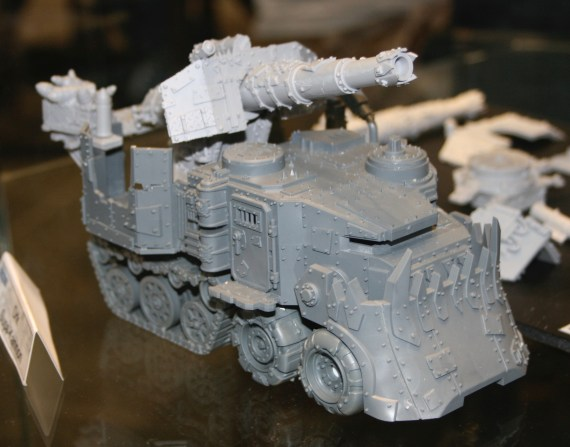 Ork Battlewagon with Killkannon from the Forge World Open Day 2009