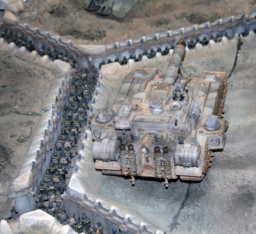 Shadowsword from the Forgeworld Display of the Siege of Vraks.
