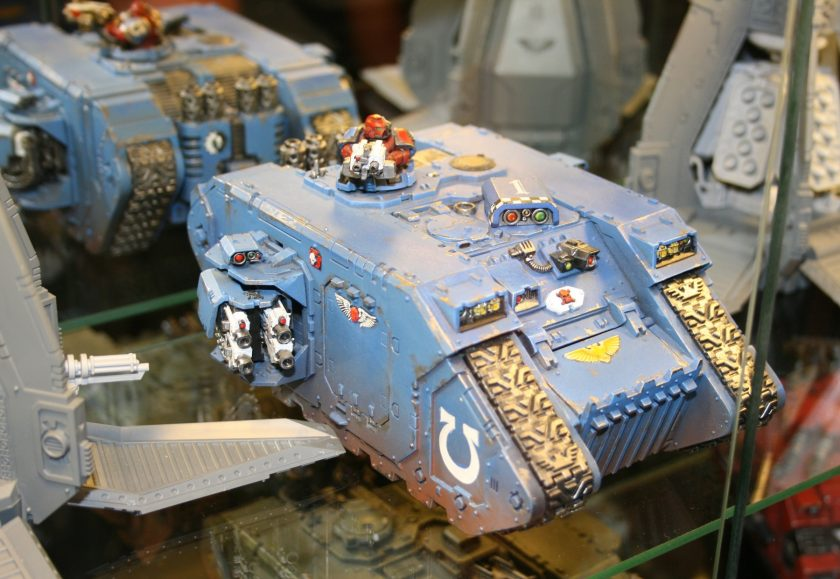 Prometheus Command Land Raider