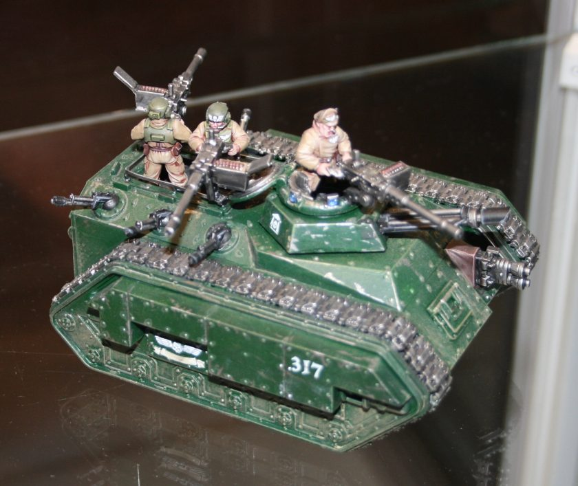 Imperial Guard Chimera from GamesDay 2009.