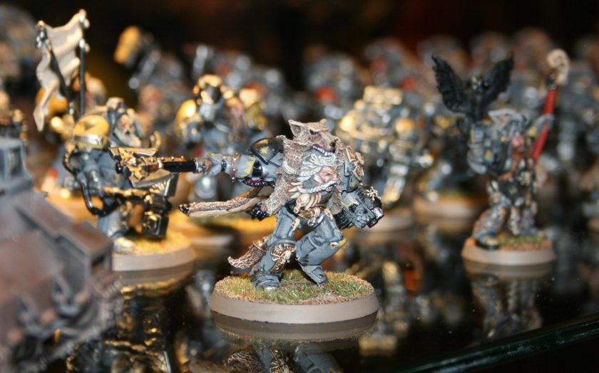 Space Wolves - Wolf Lord Logan Grimnar