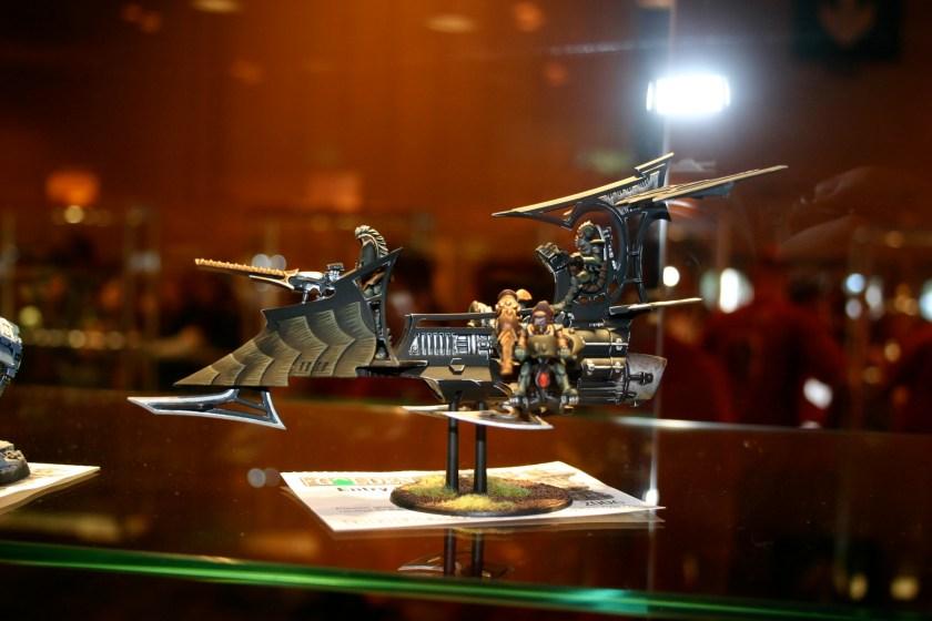 Dark Eldar Raider, this was an entry in the 2006 Golden Demon Awards.