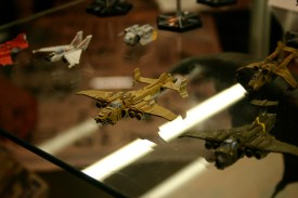 Epic Imperial Navy Marauder Destroyer Heavy Flyer from the Forgeworld display cabinets at GamesDay 2006.