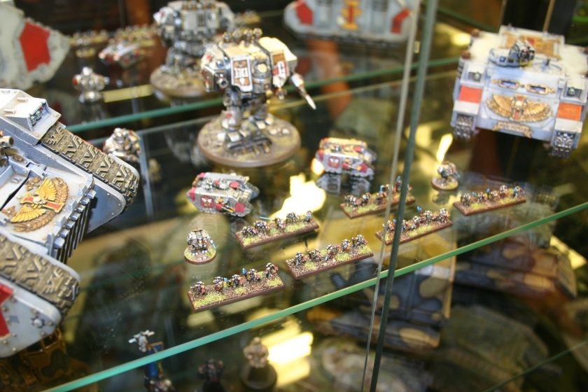 Grey Knights from the Forgeworld Displays at GamesDay 2006.