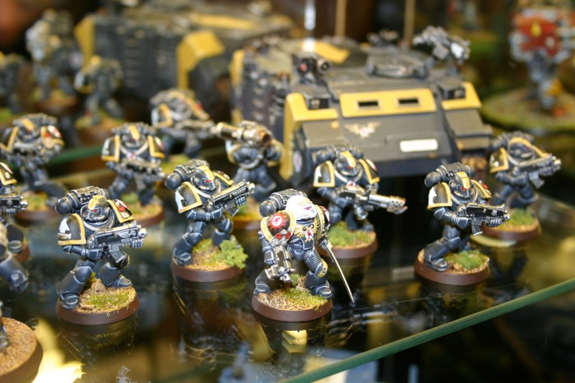 Red Scorpions Space Marines