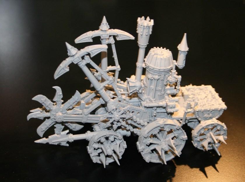 Chaos Dwarf Steam Engine Skullcracker