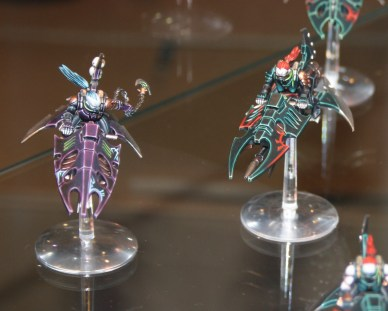 Dark Eldar Reavers at GamesDay 2010.