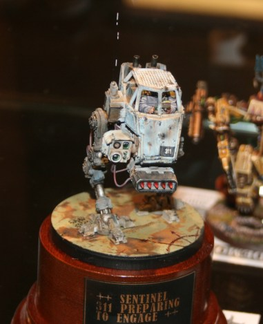 Imperial Sentinel with Missile Launcher.