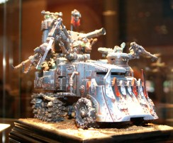 Converted Battlewagon from Golden Demon at GamesDay 2010