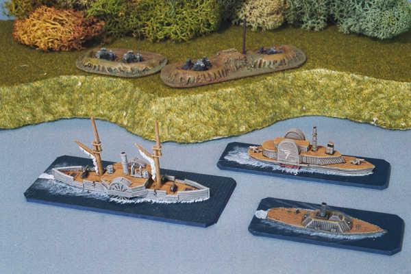 USS Sassaws & CSS Albermarle