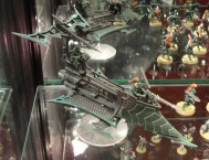 Dark Eldar Raider at Warhammer World.