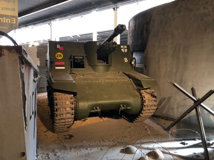 British Sexton Self-Propelled Artillery