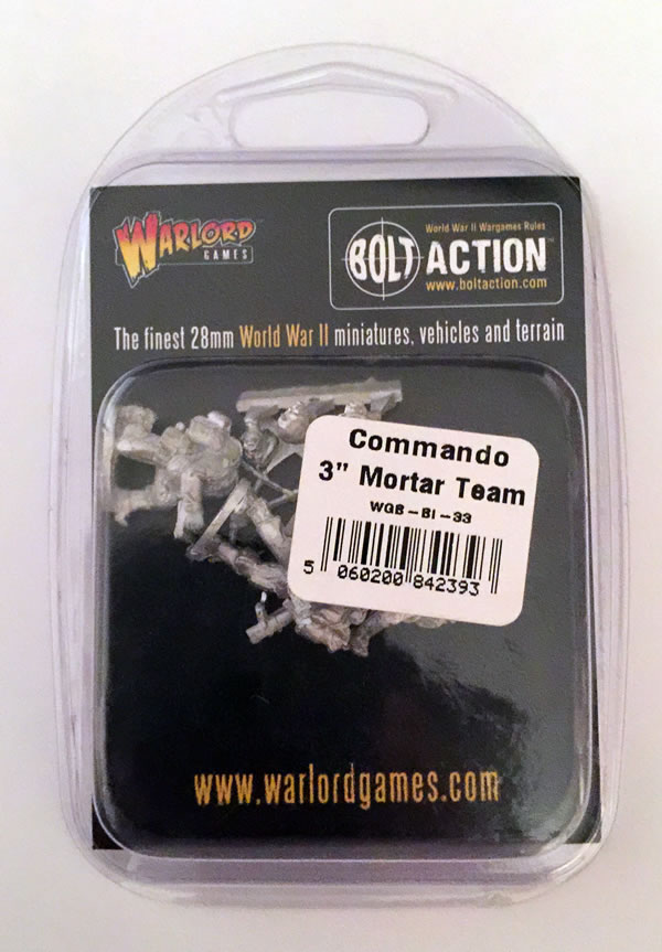 "Bolt Action Commando 3"" Mortar Team"