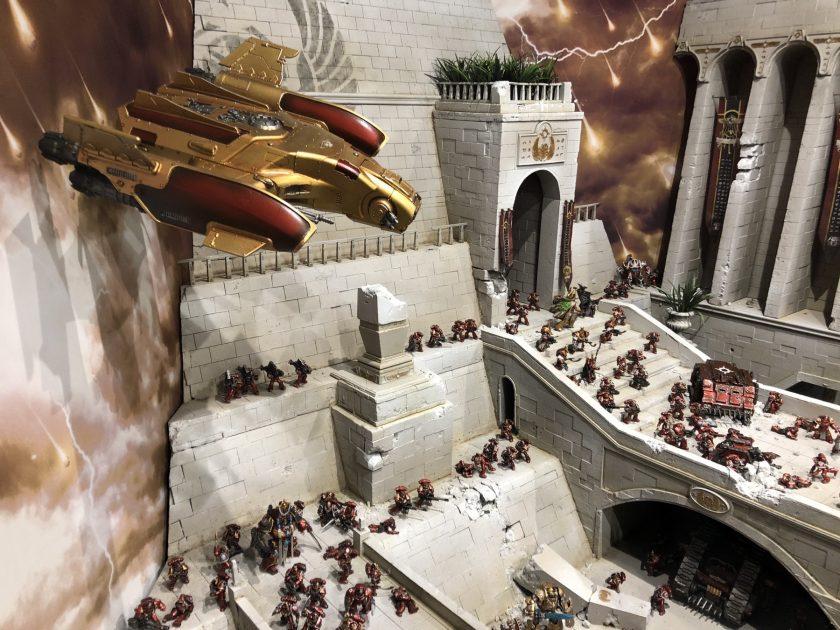 The Burning of Prospero