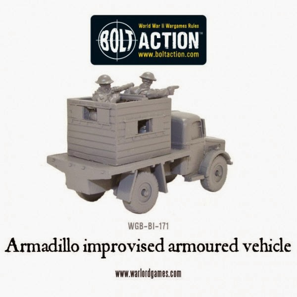 Bolt Action Armadillo Improvised Armoured Vehicle