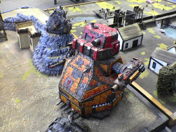 40K scale Ork Gargant