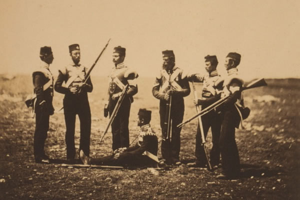 Roger Fenton Photograph of Crimean War
