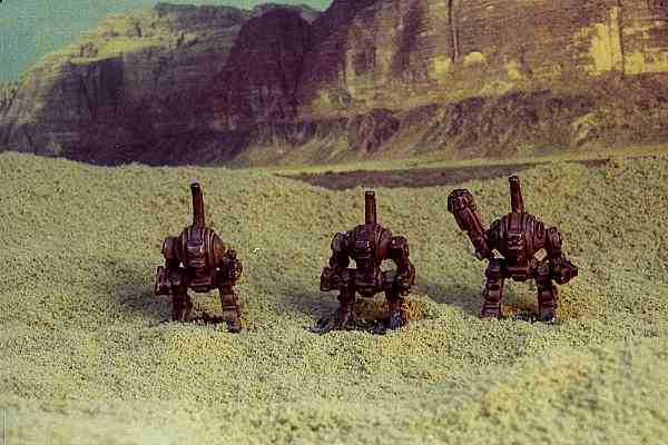 Dreadnoughts in the desert
