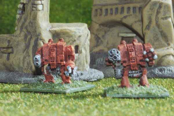 Dreadnoughts in front Snapdragon Studio buildings