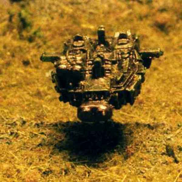 Close-up of Land Speeder