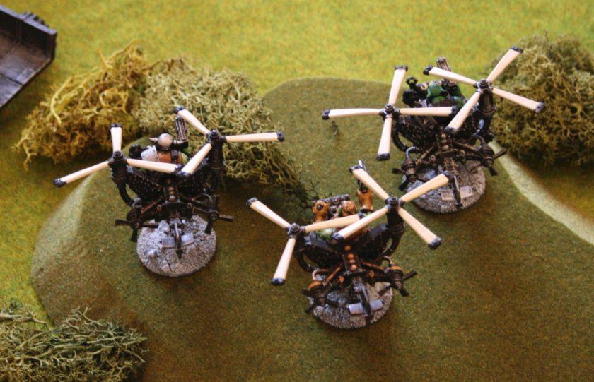 Ork Deff Koptaz speed into battle